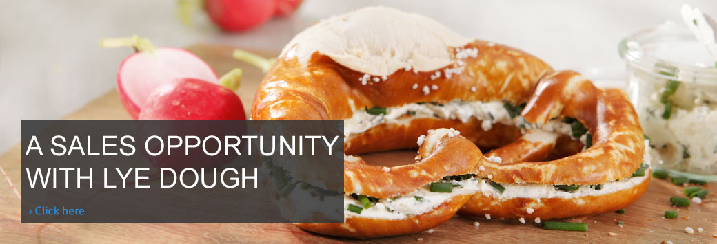 A sales opportunity with lye dough